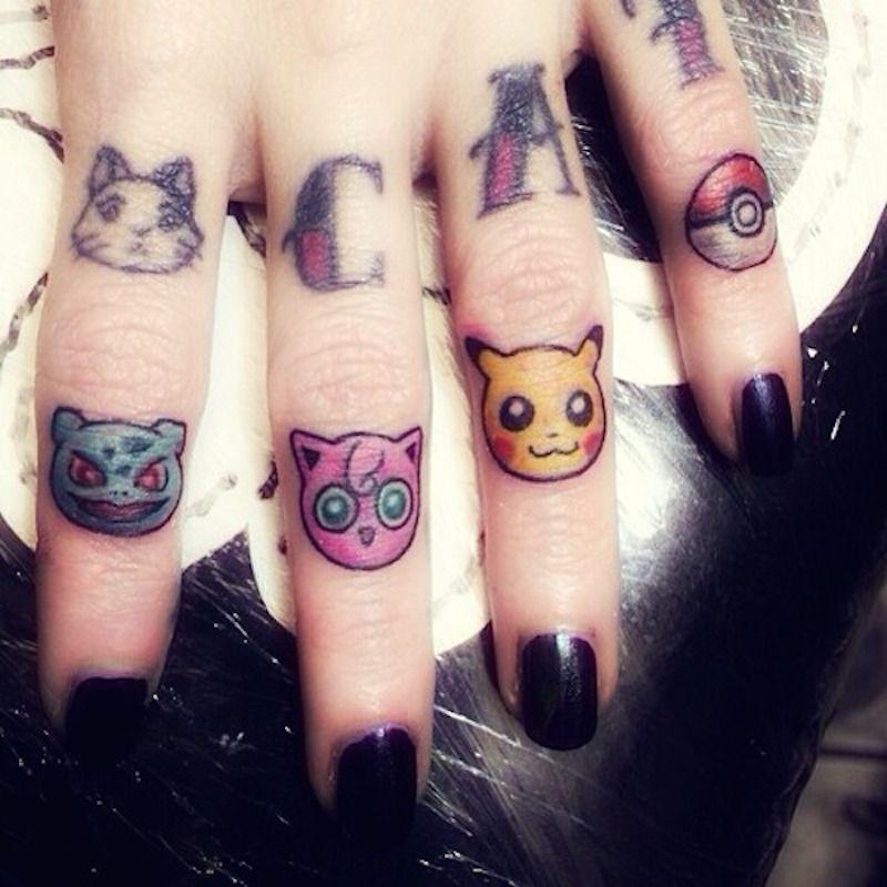 small pokemon tattoos