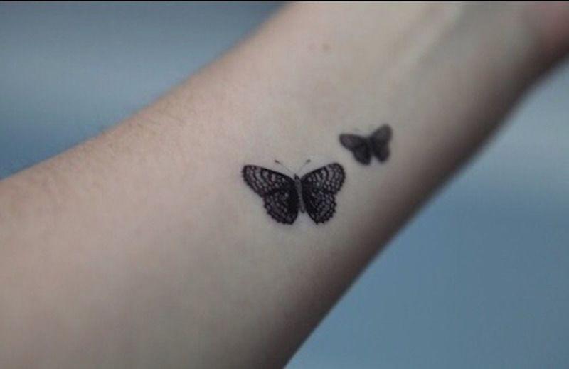 small tattoo butterflies