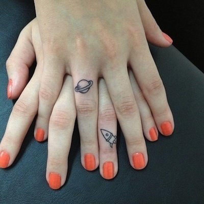 small tattoo couple
