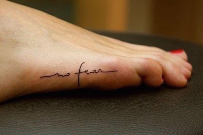 small tattoo script