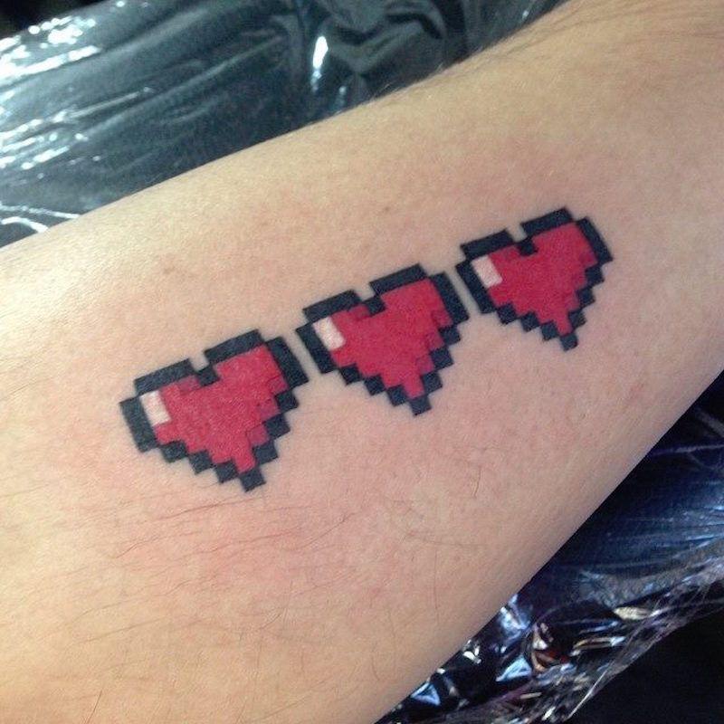 small tattoos pixel