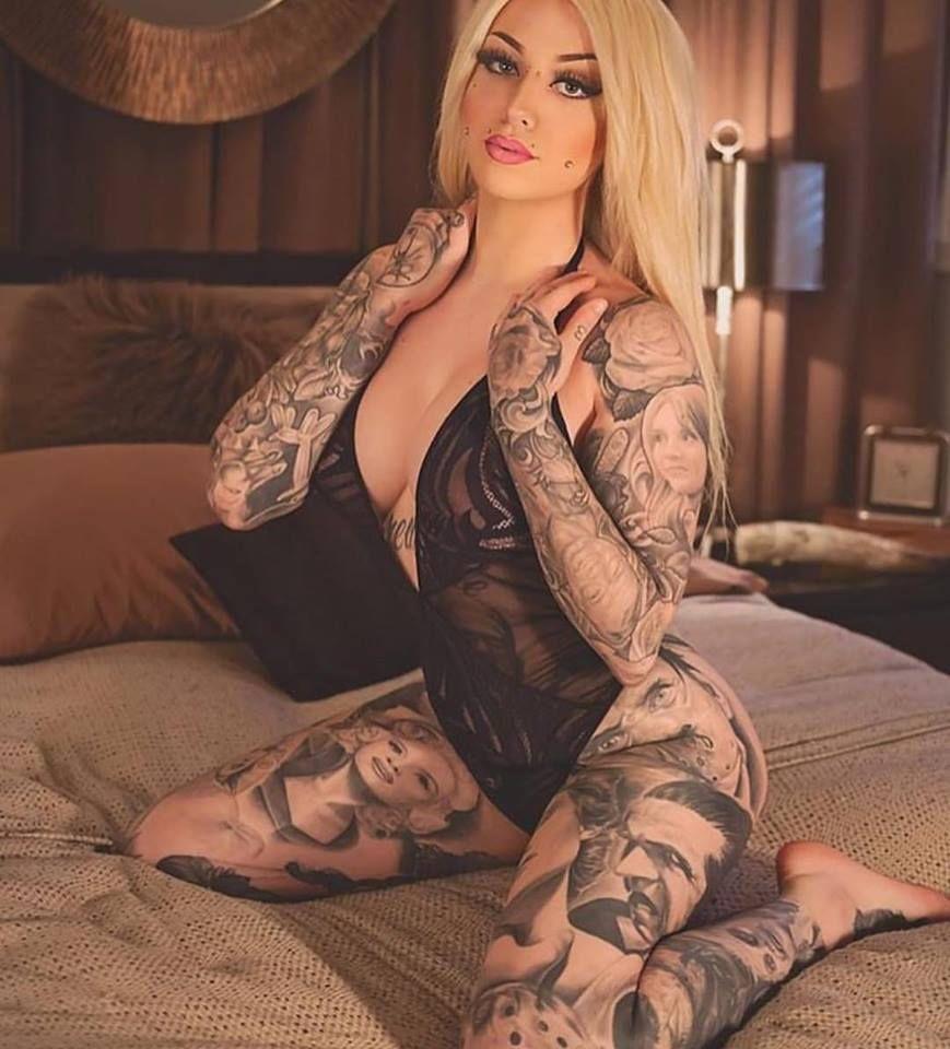 взглянула сына, татуированная тетка с негром думаю
