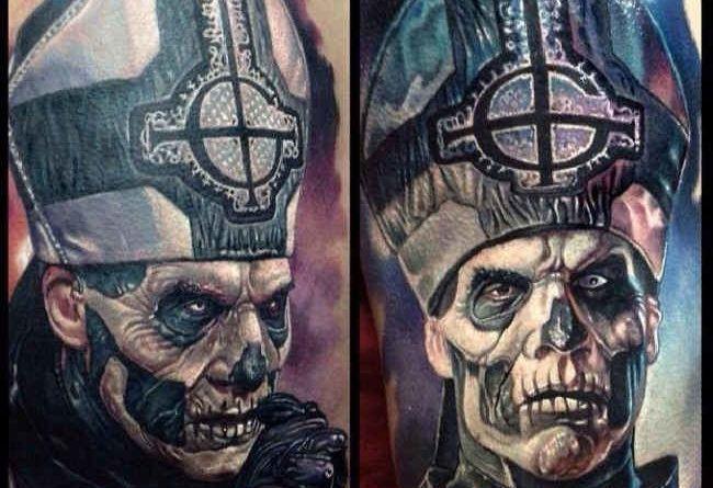 Татуировки в стиле horror (фото)