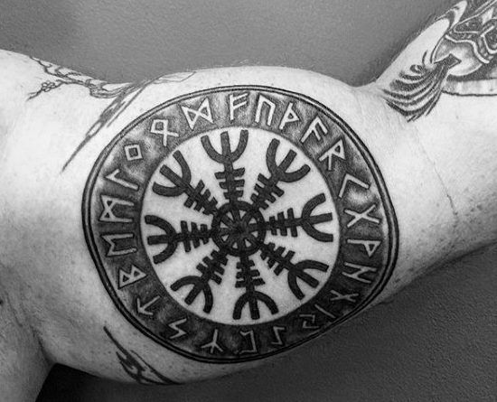 Руны татуировки рунескрипт Уруз