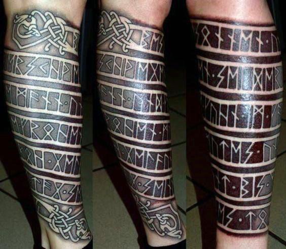 uruz rune tattoo