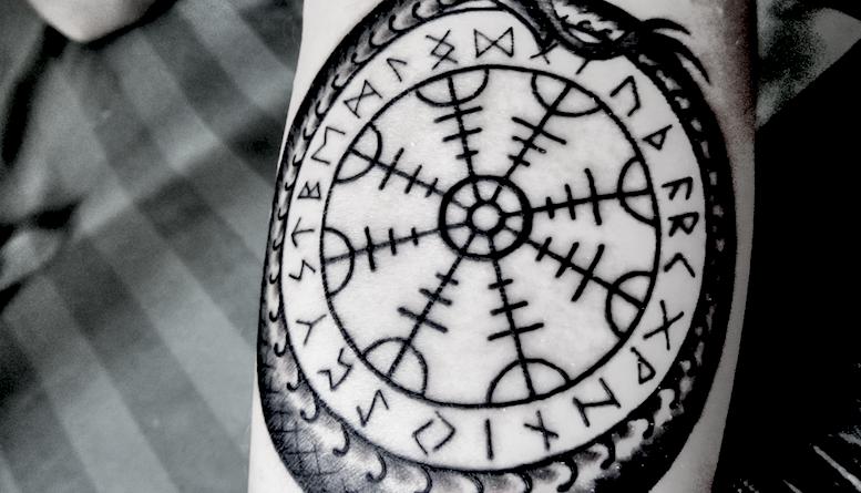 Руна Гебо. Татуировки и значение руны