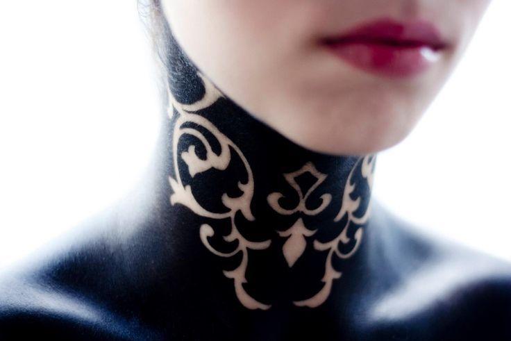 Фото татуировки тату на шее картинки каталог on-tattoo.ru