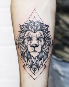 Leo zodiac Tattoo