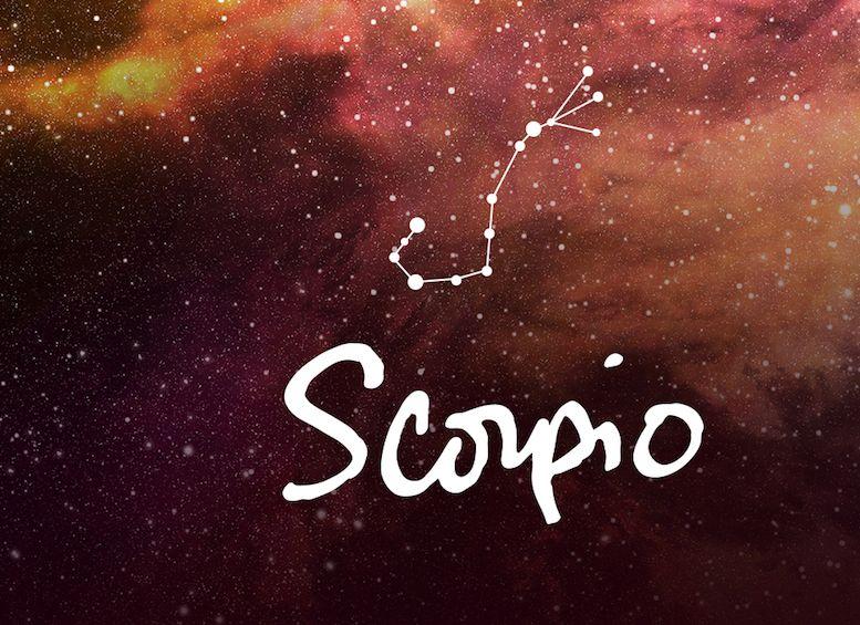 Скорпион знак зодиака тату эскиз