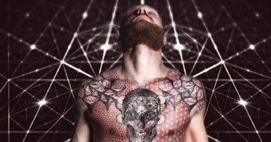 Сакральная геометрия в татуировке