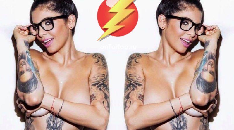 Hot & Sexy! Татуировки для девушек (55 фото)