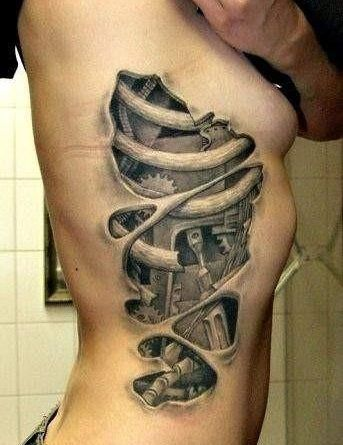 tattoo illusion