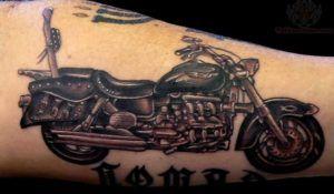 Harley-Davidson Motor Тату