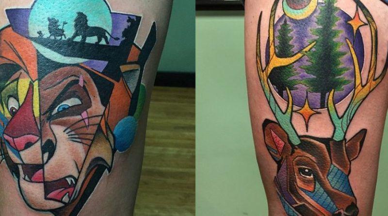 art pop tattoo