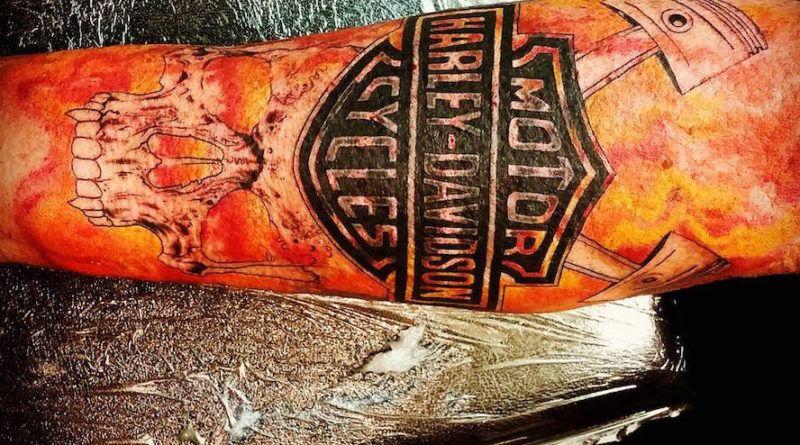 Татуировка мото фото