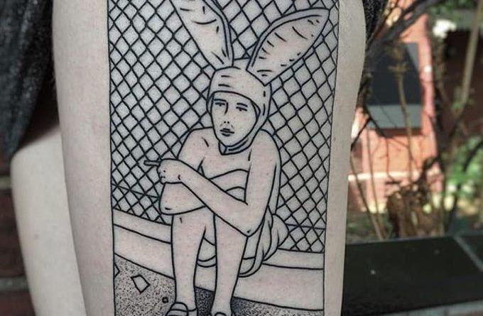 charley gerardin box tattoo