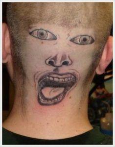 Партаки тату 25 идиотских татуировок