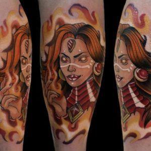 dota tattoo