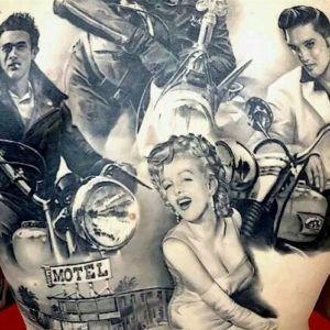 ЗолотойвекГолливуда: звёзды кино в тату