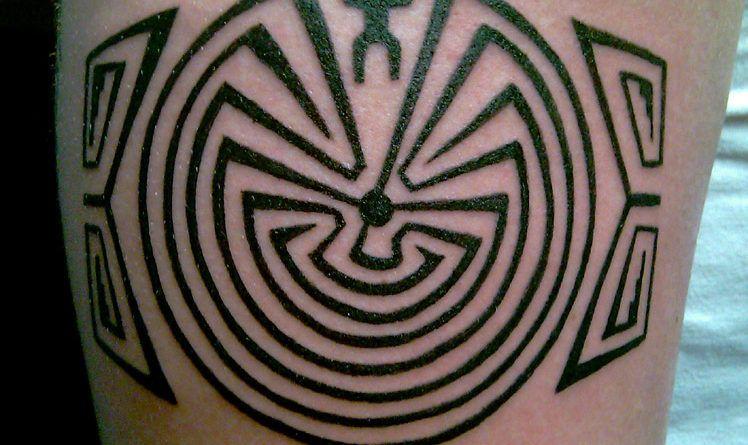 Тату лабиринт labyrinth фото значение