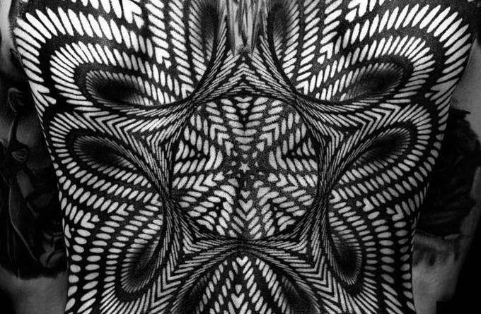 Optical Illusion ontattoo