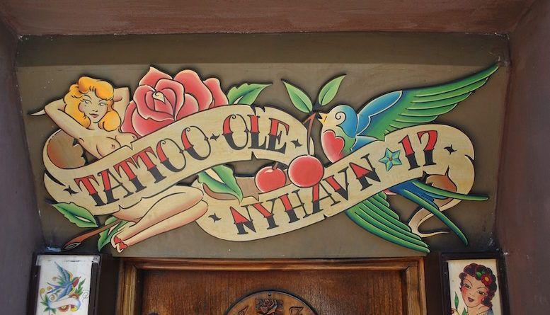 Салон «Tattoo Ole» работает в Копенгагене уже 133 года