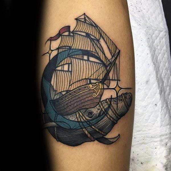 Кит тату ontattoo фото и значение татуировки