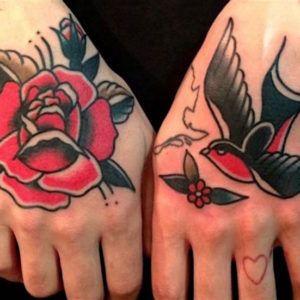 Тату Ласточка: фото и значение татуировки