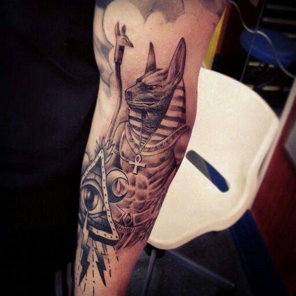 тату крест анкх символ анх татуировки фото