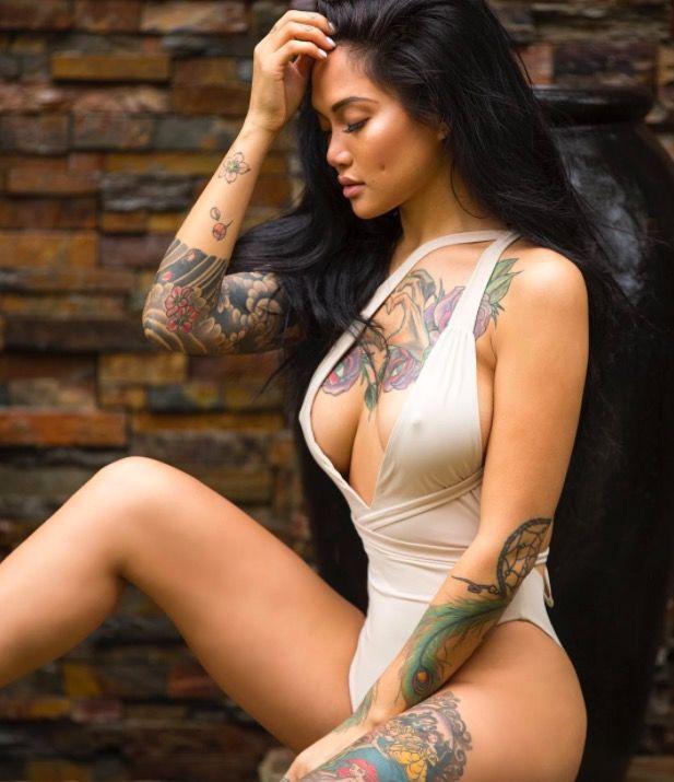 красивая девушка тату фото каталог tattoo