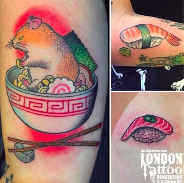 London Tattoo on tattoo