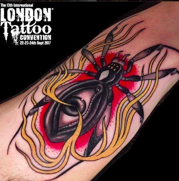 Международная тату-конвенция в Лондоне (фото) 2017