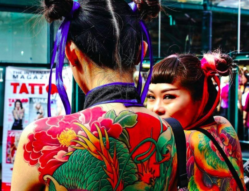 Международная тату-конвенция в Лондоне (фото)