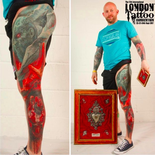 London Tattoo on tattoo