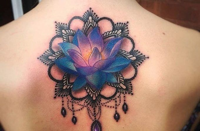 Тату Лотос. Фото и значение татуировки с цветком лотоса