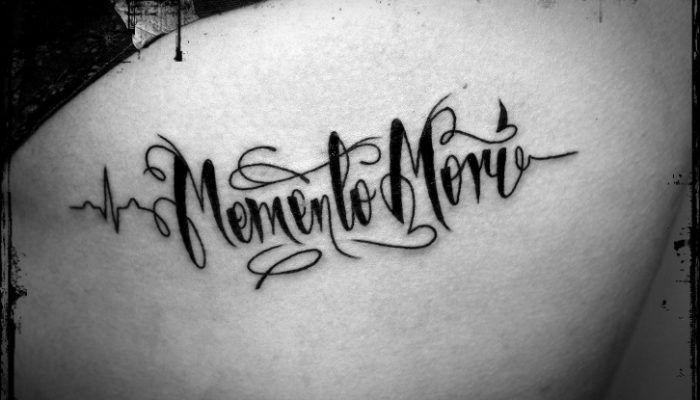 Memento mori на латыни тата