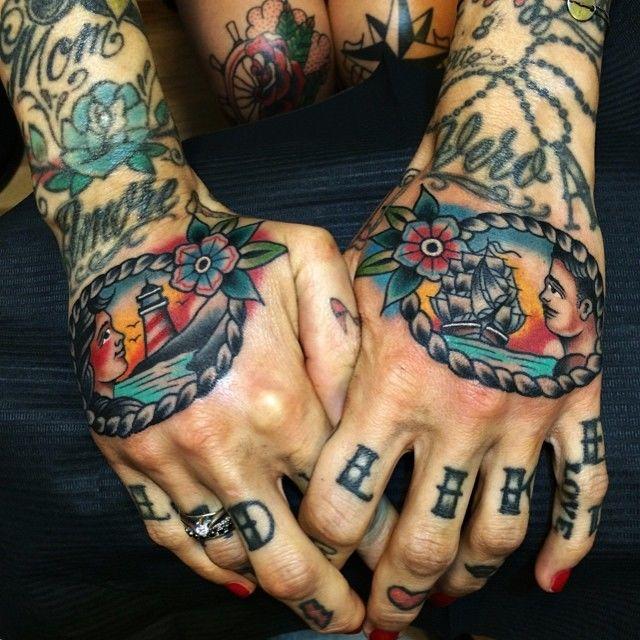 Фото: традиционные морские татуировкиSamuele Briganti