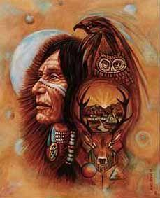Индеец шаман