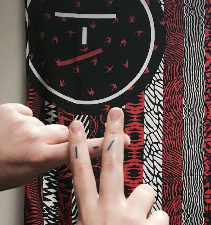 Twenty One Pilots: Skeleton Clique tattoo