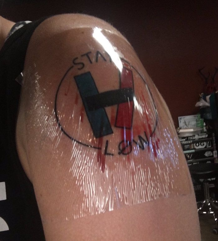 Skeleton Clique Tattoo