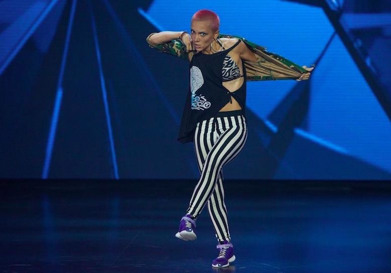 Teona Tsitsakishvili шоу Танцы на ТНТ