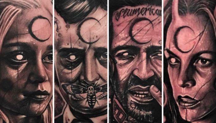 Татуировки в стиле «The Dark Trash» реализм