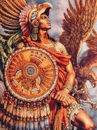 Aztec Ацтек индеец