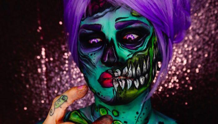 Боди-арт: красивые кошмары Кори Уиллет