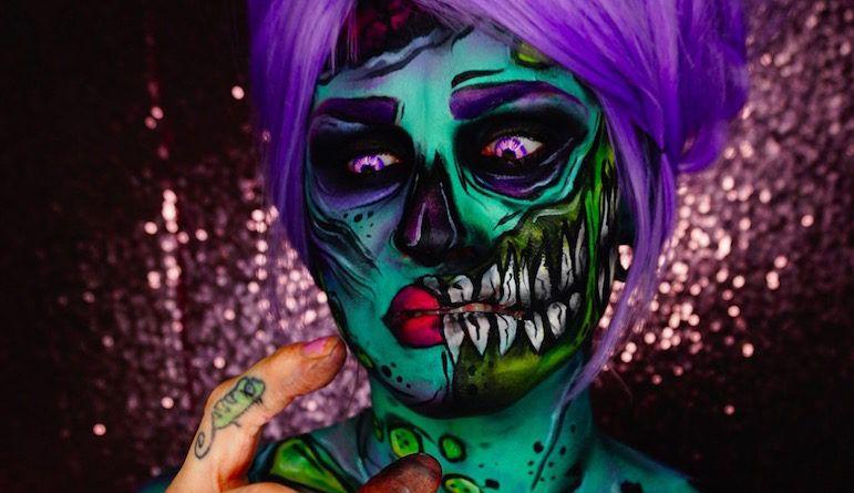 Halloween грим иБоди-арт фото