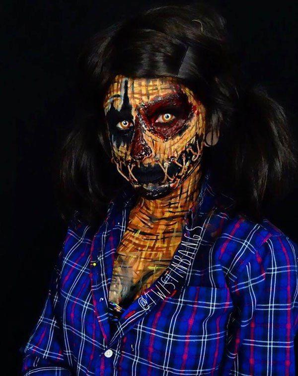 Боди-арт макияж образы для Хэллоуин фото