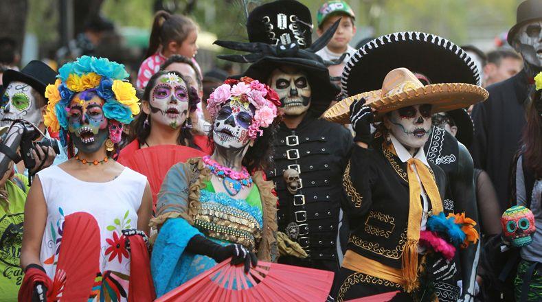 Мексиканский череп. История и значение татуировки Калавера