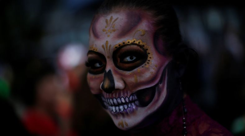 Мексика: парад Калавера 2017 фото