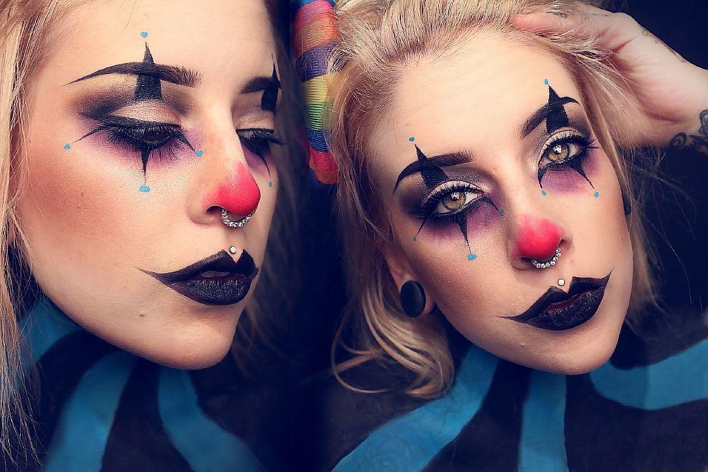 Макияж девочке на хэллоуин
