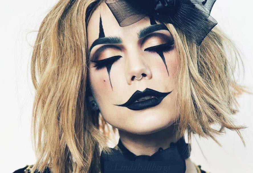 идеи макияжа на хэллоуин фото грим